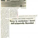 Verso la conclusione i lavori dell'orfanotrofio Brovedani