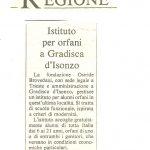 Istituto per orfani a Gradisca d'Isonzo