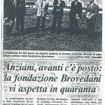 Anziani, avanti c'è posto: la fondazione Brovedani vi aspetta in quaranta