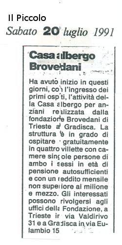 Casa Albergo Brovedani