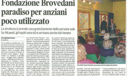 Fondazione Brovedani paradiso per anziani poco utilizzato