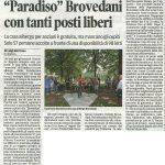"""""""Paradiso"""" Brovedani con tanti posti liberi"""