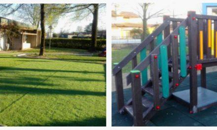 Torna colorato il giardino d'infanzia della materna comunale