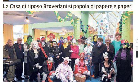 La Casa di riposo Brovedani si popola di papere e paperi
