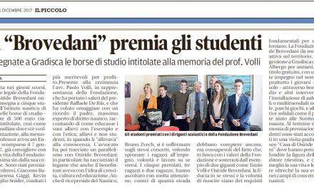 """La """"Brovedani"""" premia gli studenti"""