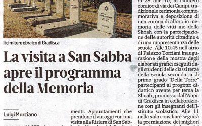 La visita a San Sabba apre il programma della Memoria