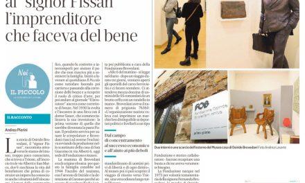 """Nel museo dedicato al """"signor Fissan"""""""