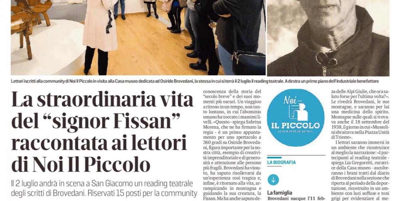 """La straordinaria vita del """"signor Fissan"""""""