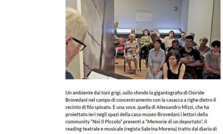 Il diario di Brovedani nel reading