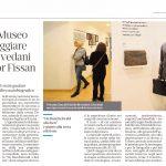 Notte al museo per festeggiare casa Brovedani del Signor Fissan