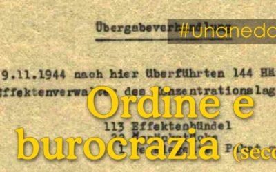 ordine e burocrazia nazisti – parte seconda